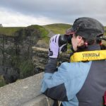Bird watching at the Cliffs of Moher
