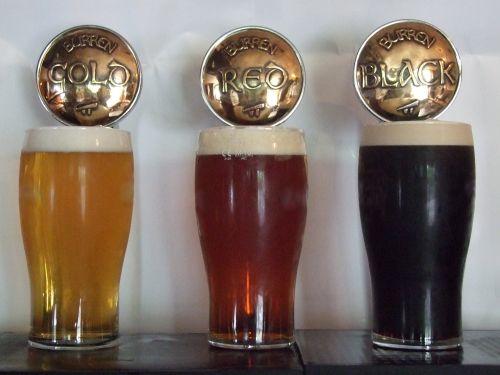Burren Brewery taps, local beer, artisan