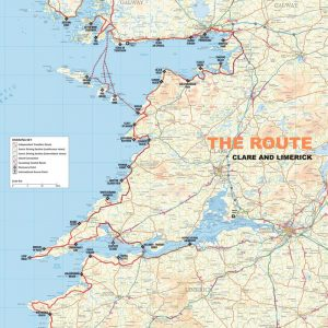 WAW Route Map -Clare & Limerick