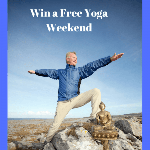 Win a free yoga weekend, relax in the Burren