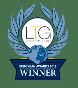 Winners badge, Luxury Travel Guide, Burren, Eco-friendly