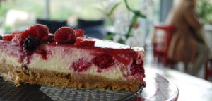 Doolin Cave Café cheesecake
