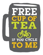 Free tea for cycling