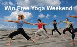 Burren yoga retreat, free weekend, reconnect