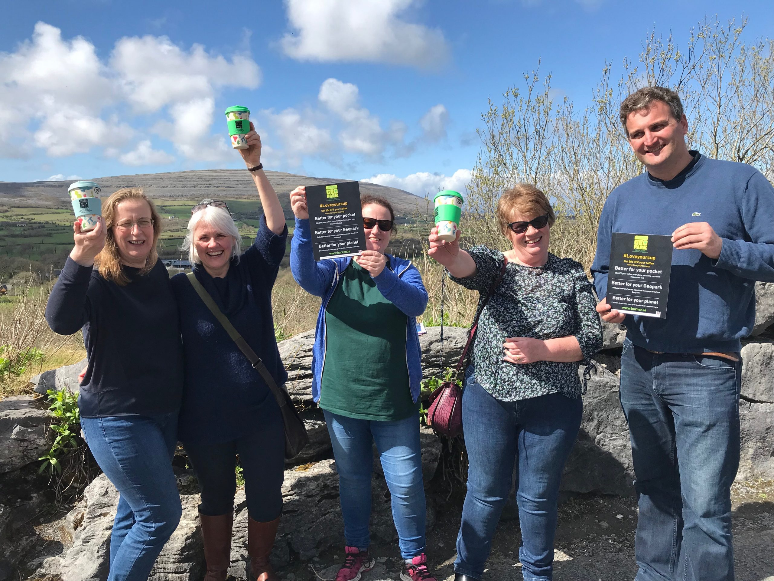 The Burren Cup, #loveyourcup, discount, sustainable, ecotourism, geopark