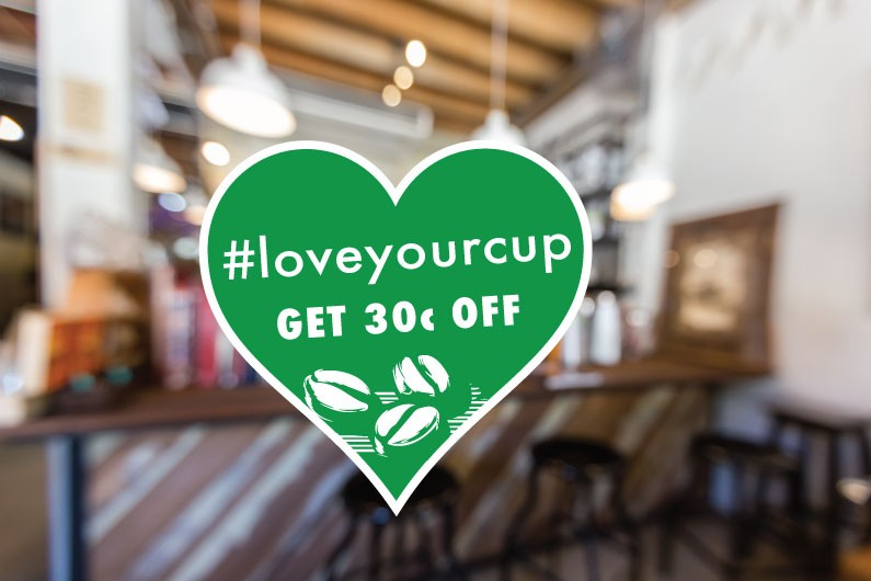 The Burren Cup, #loveyourcup, discount, sustainable, ecotourism