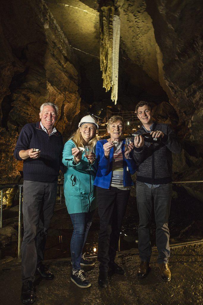 Doolin Cave, Long table, adventure, cave, family fun