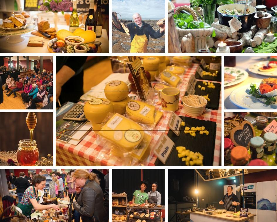 Burren Food Fayre, Local community producers, events