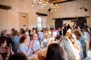 Long table events, Food trail, community, reunite