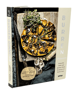 Burren Dinners Book, cook book, local chefs recipes, gift idea