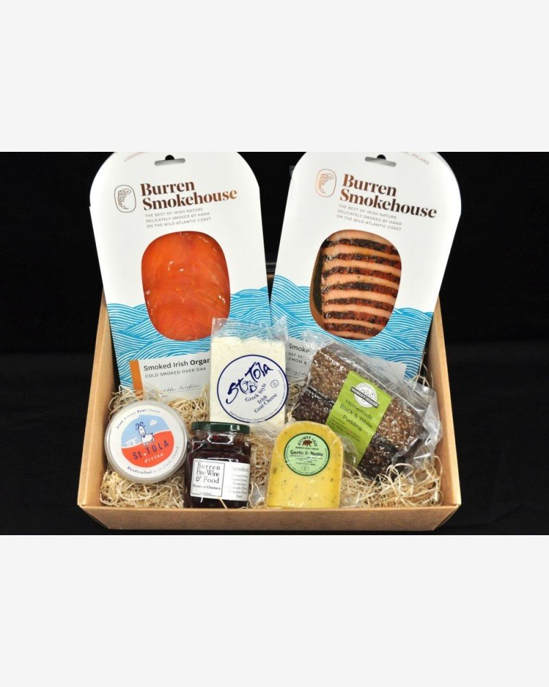 Hamper of locally produced food products, Co.Clare