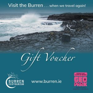 Visit the Burren Gift Vouchers, Geopark, reunite, ecotourism