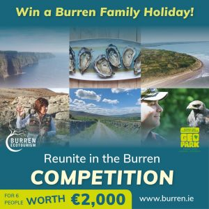 Burren and Cliffs of Moher Global Geopark, Holiday, Escape, Rugged, rural