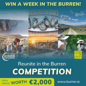Reunite in the Burren and Cliffs of Moher Geopark