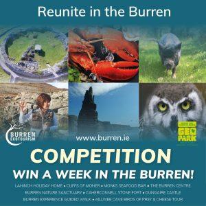 Burren competition, reunite