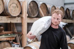 Burren Whiskey Distillery, reconnect, geopark, artisan producer, casks