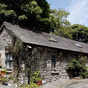 Traditional stone building at Burren Fine Wine and Food