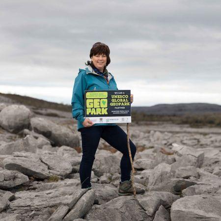 Marie McGauran, Burren Experience Guided Walks, adventure, activity, outdoor fun, limstone