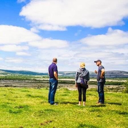 Burren View with Burren Farm Experience, fun