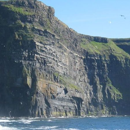 Cliffs of Moher, View form the boat, cruise