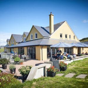 Doolin Inn, food and fun, sea