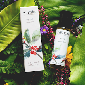 Airmid forest perfume oil, Burren Co.Clare Irish hamper of products