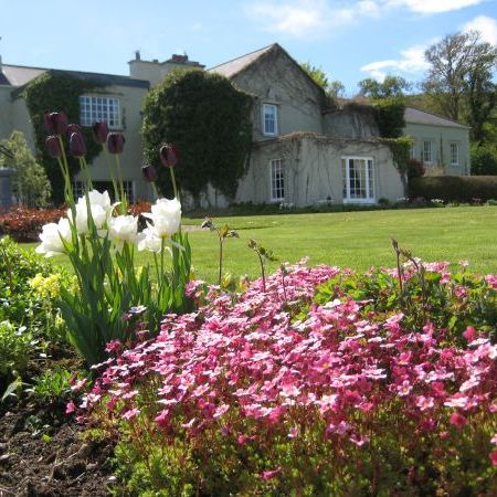 Garden in full bloom in Gregan's Castle Hotel, nature, reconnect