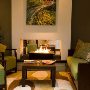 Reception area at Hotel Doolin, Carbon Neutral Hotel