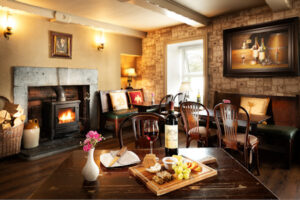 Food and wine, pub, cosy accommodation
