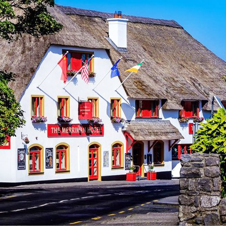 The Merriman Hotel, Kinvara, Thatched Roof, traditional