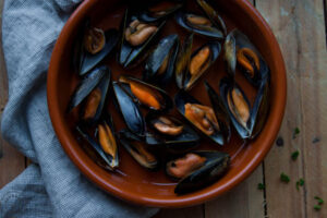 Cooked Mussels, Flaggy Shore Oysters, Wild Atlantic Way food