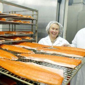 Burren Smokehouse owner, smoked salmon, artisan producers, family activity