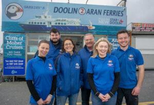 Doolin2Aran Ferries Office staff Picture, adventure holidays
