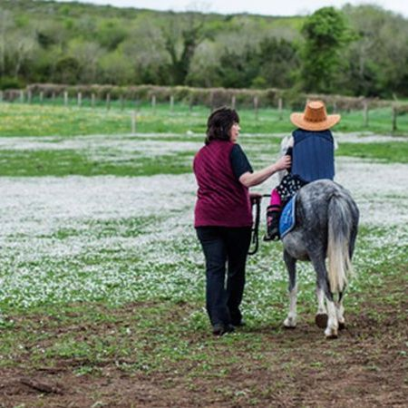 Pony riding at the Farmyard, Family adventures, reconnect