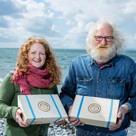 Flaggy shore oysters, Redbank artisan food producers in Co.Clare, Wild Atlantic Way adventure
