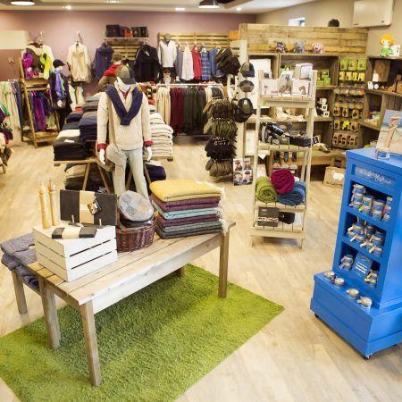 Shop floor at Irish Crafts, Doolin, Irish gifts