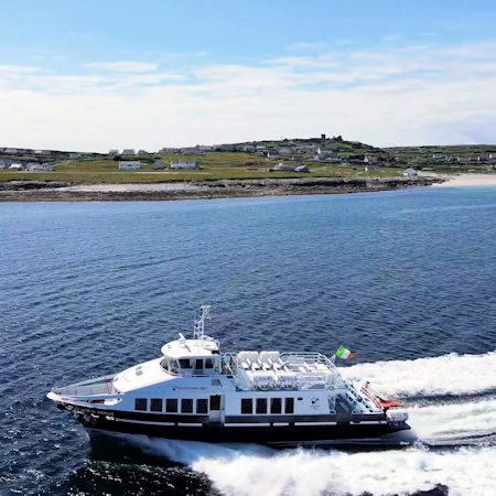 Sailing to the Aran islands, adventure holidays, escape
