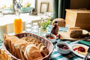 Breakfast at Vaughan's Guesthouse, Irish food