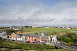Doolin village view, sea view House Doolin, escape