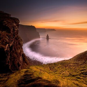Sunset at the Cliffs of Moher, reconnect, adventure