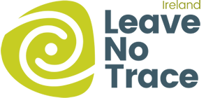 Leave no trace logo, responsible travel, sustainable