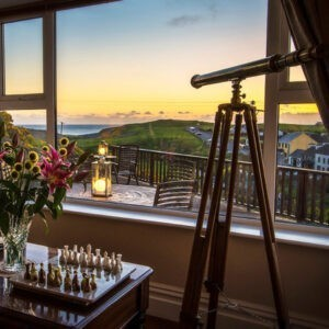 Seaview House, Sea and Doolin Village View, Holiday by the Sea, Lonely planet award