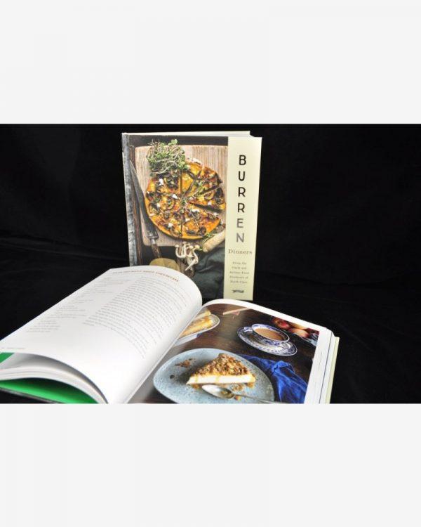 Burren Dinners Book, cook book, local chefs, local ingredients, gift idea