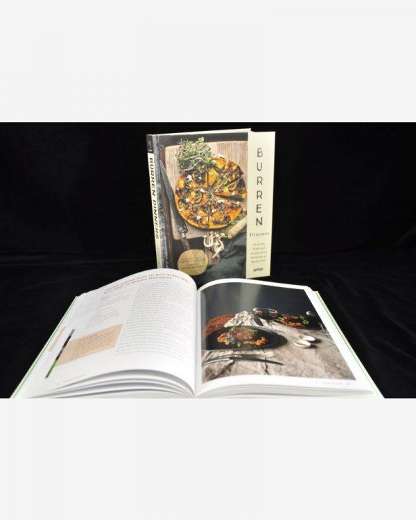 Burren Dinners Book, cook book, local chefs, local ingredients