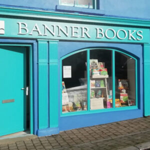 External view of Banner books, adventure, family friendly