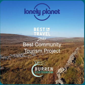 Burren Lonely Planet Best Community Project, Wild Rugged