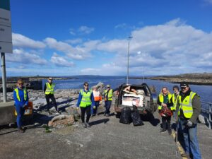 Earth Day, Shore litter clean up, leave no trace