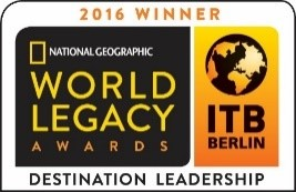 National Geographic World Legacy Awards, Destination Leadership, 2016 Winners