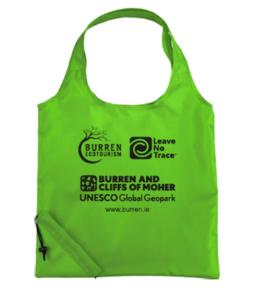 rubbish, Burren Tote Bag, Leave no trace